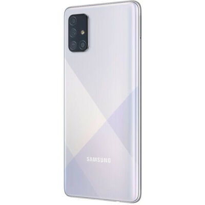 Téléphones neufs Samsung Galaxy A71 Argent 4 en Martinique, en Guadeloupe, en Guyane et à la Réunion