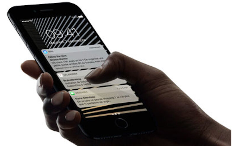 Téléphones neufs Apple Iphone 7 Descriptif 4 en Martinique, en Guadeloupe, en Guyane et à la Réunion