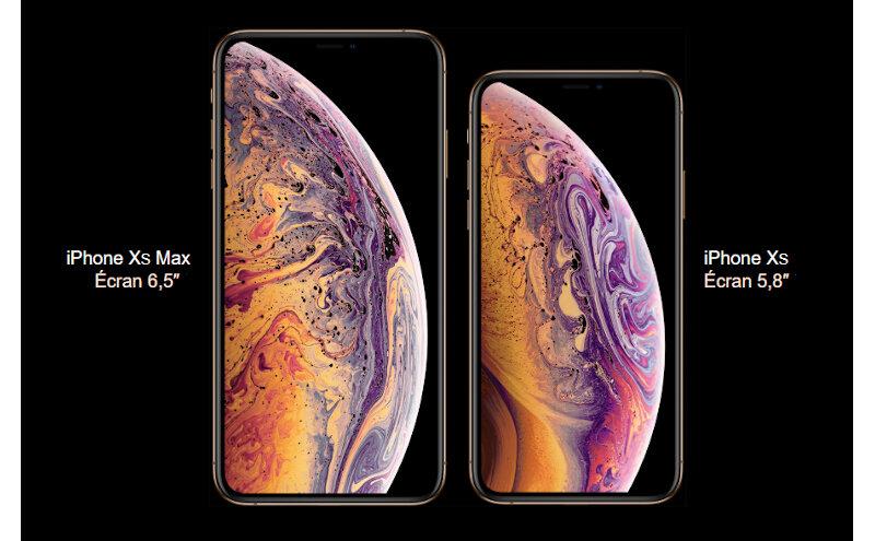 Téléphones neufs Apple Iphone Xs Max Descriptif 1 en Martinique, en Guadeloupe, en Guyane et à la Réunion
