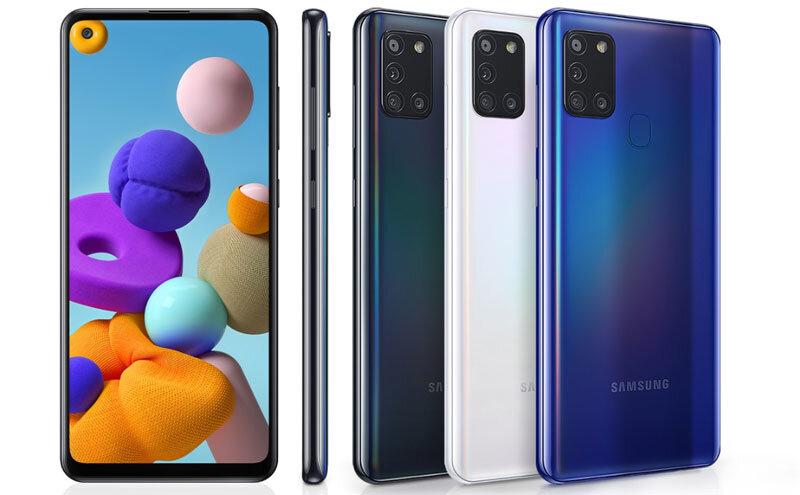 Téléphones neufs Description Samsung A21s 2 en Martinique, en Guadeloupe, en Guyane et à la Réunion