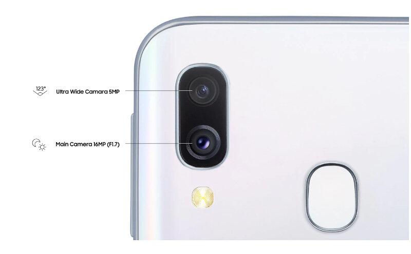 Téléphones neufs Description Samsung A40 2 en Martinique, en Guadeloupe, en Guyane et à la Réunion