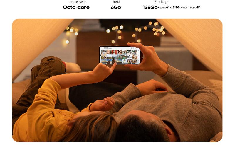 Téléphones neufs Description Samsung Galaxy A71 6 en Martinique, en Guadeloupe, en Guyane et à la Réunion