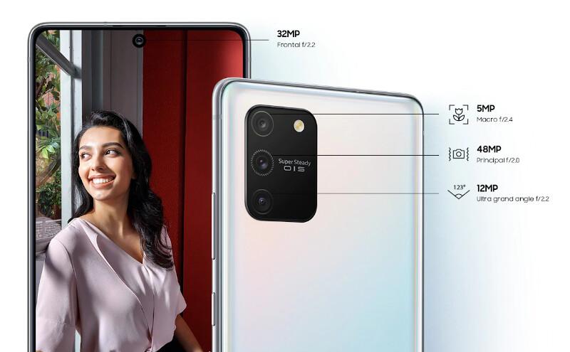Téléphones neufs Description Samsung S10 Lite 2 en Martinique, en Guadeloupe, en Guyane et à la Réunion