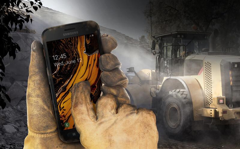 Téléphones neufs Description Samsung Xcover 4S 1 en Martinique, en Guadeloupe, en Guyane et à la Réunion