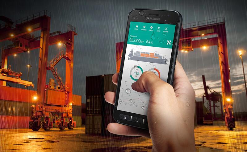 Téléphones neufs Description Samsung Xcover 4S 2 en Martinique, en Guadeloupe, en Guyane et à la Réunion