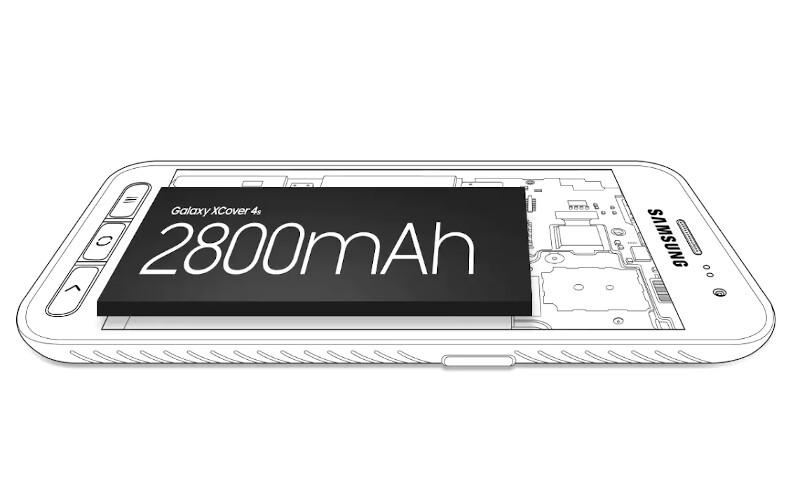 Téléphones neufs Description Samsung Xcover 4S 4 en Martinique, en Guadeloupe, en Guyane et à la Réunion