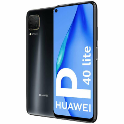 Téléphones neufs Huawei P40 Lite Noir 6 en Martinique, en Guadeloupe, en Guyane et à la Réunion