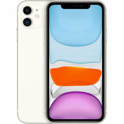 Téléphones neufs Iphone 11 Blanc 1 en Martinique, en Guadeloupe, en Guyane et à la Réunion