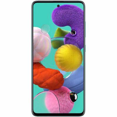 Téléphones neufs Samsung Galaxy A51 Bleu 1 en Martinique, en Guadeloupe, en Guyane et à la Réunion