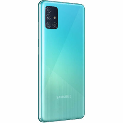 Téléphones neufs Samsung Galaxy A51 Bleu 3 en Martinique, en Guadeloupe, en Guyane et à la Réunion