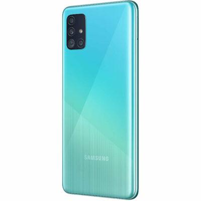 Téléphones neufs Samsung Galaxy A51 Bleu 4 en Martinique, en Guadeloupe, en Guyane et à la Réunion