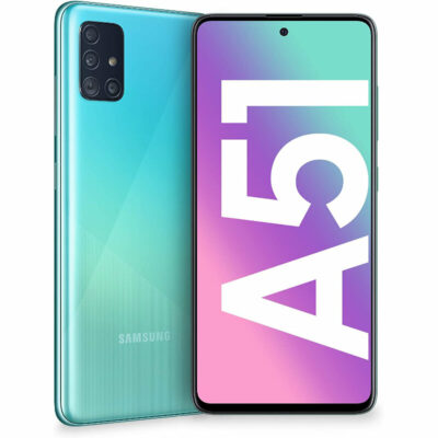 Téléphones neufs Samsung Galaxy A51 Bleu 6 en Martinique, en Guadeloupe, en Guyane et à la Réunion