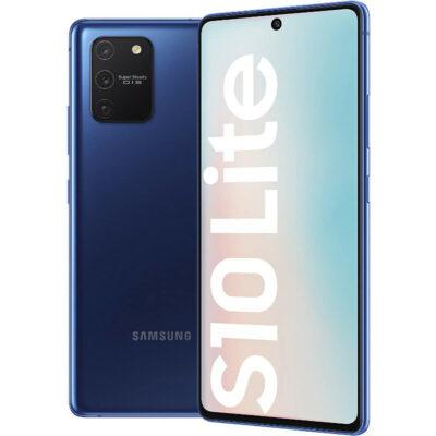Téléphones neufs Samsung S10 lite Bleu 4 en Martinique, en Guadeloupe, en Guyane et à la Réunion