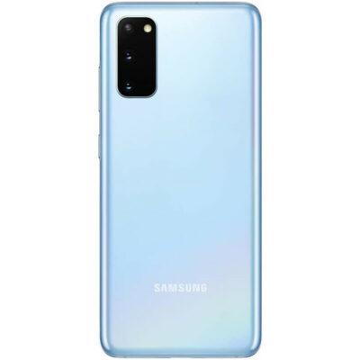 Téléphones neufs Samsung S20 Bleu 2 en Martinique, en Guadeloupe, en Guyane et à la Réunion