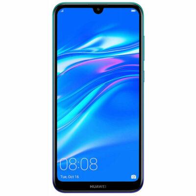 Téléphones neufs Huawei Y7 2019 Bleu 1 en Martinique, en Guadeloupe, en Guyane et à la Réunion