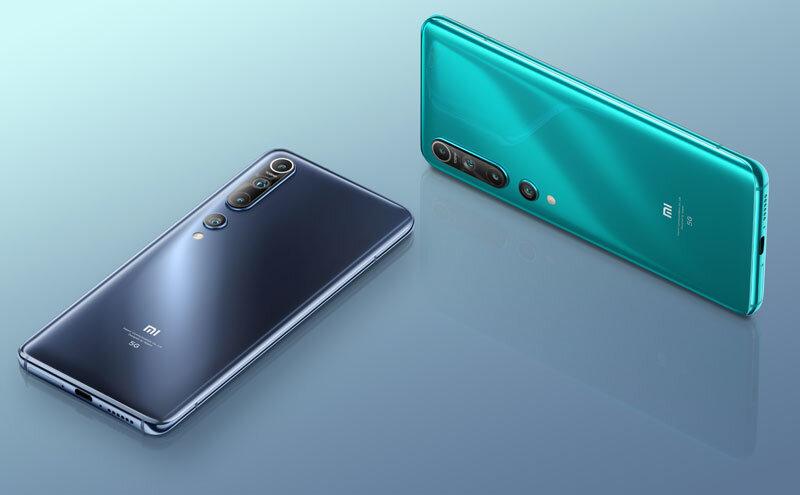 Téléphones neufs Description  Xiaomi Mi 10 5G 2 en Martinique, en Guadeloupe, en Guyane et à la Réunion