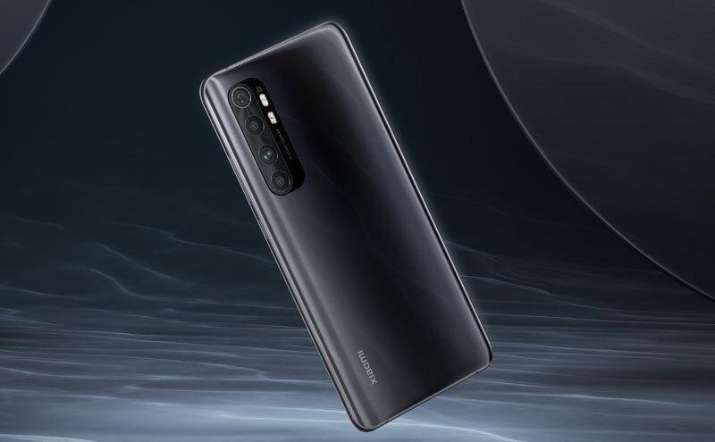 Téléphones neufs Description  Xiaomi Mi Note 10 Lite 2 en Martinique, en Guadeloupe, en Guyane et à la Réunion