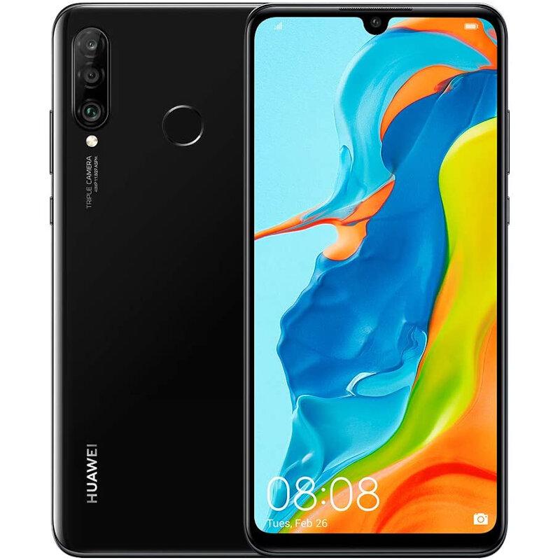Téléphones neufs Huawei P30 Lite New Edition Noir 1 en Martinique, en Guadeloupe, en Guyane et à la Réunion