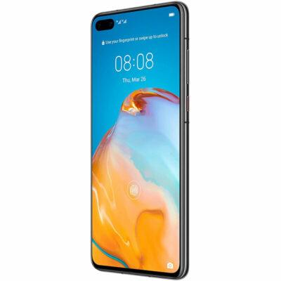 Téléphones neufs Huawei P40 5G Noir 4 en Martinique, en Guadeloupe, en Guyane et à la Réunion