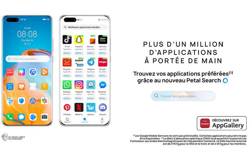 Téléphones neufs Petal Search en Martinique, en Guadeloupe, en Guyane et à la Réunion