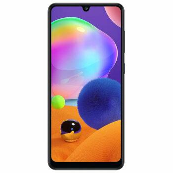 Téléphones neufs Samsung A31 Noir 1 en Martinique, en Guadeloupe, en Guyane et à la Réunion
