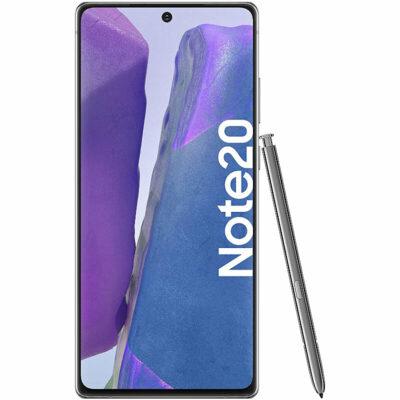 Téléphones neufs Samsung Note 20 Gris 1 en Martinique, en Guadeloupe, en Guyane et à la Réunion