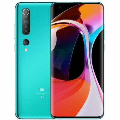 Téléphones neufs  Xiaomi Mi 10 Vert 1 bis en Martinique, en Guadeloupe, en Guyane et à la Réunion