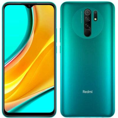 Téléphones neufs  Xiaomi Redmi 9 Vert 1 en Martinique, en Guadeloupe, en Guyane et à la Réunion