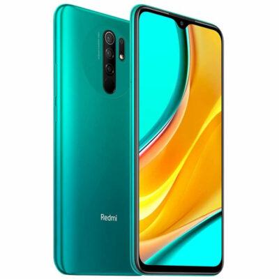 Téléphones neufs  Xiaomi Redmi 9 Vert 2 en Martinique, en Guadeloupe, en Guyane et à la Réunion