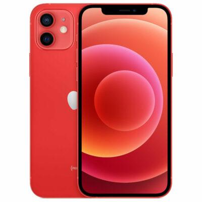 Téléphones neufs Apple Iphone 12 Rouge 2 en Martinique, en Guadeloupe, en Guyane et à la Réunion