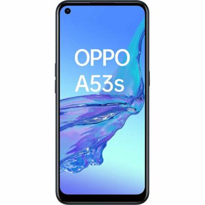 Téléphones neufs Oppo A53s Noir 1 en Martinique, en Guadeloupe, en Guyane et à la Réunion