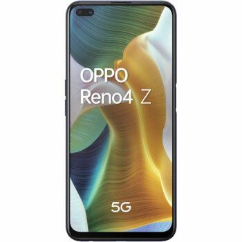 Téléphones neufs Oppo Reno4 Z Noir 1 en Martinique, en Guadeloupe, en Guyane et à la Réunion