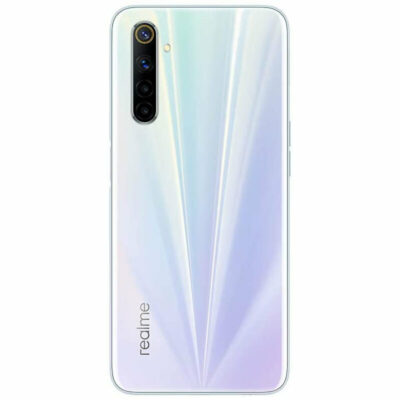 Téléphones neufs Realme 6 Blanc 2 en Martinique, en Guadeloupe, en Guyane et à la Réunion