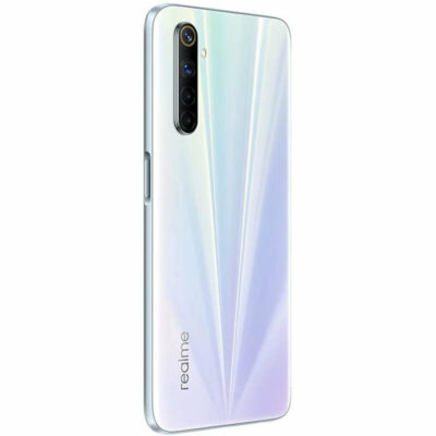 Téléphones neufs Realme 6 Blanc 5 en Martinique, en Guadeloupe, en Guyane et à la Réunion