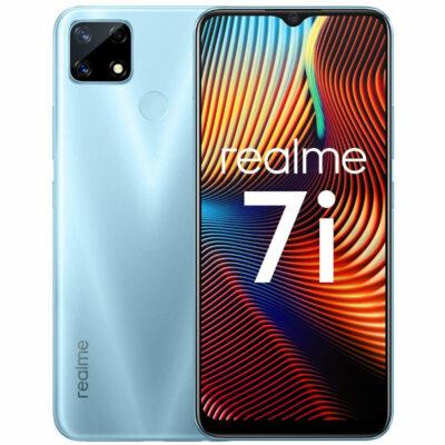 Téléphones neufs Realme 7i Bleu 1 en Martinique, en Guadeloupe, en Guyane et à la Réunion