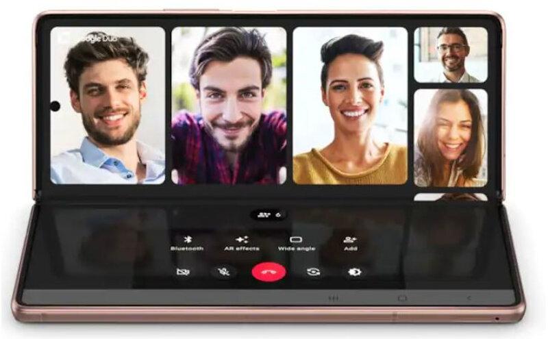 Téléphones neufs Description Samsung Galaxy Z Fold 2 5G 5 en Martinique, en Guadeloupe, en Guyane et à la Réunion