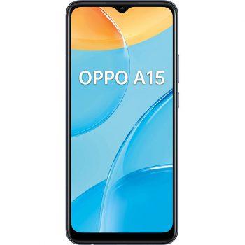 Téléphones neufs Oppo A15 Noir 1 en Martinique, en Guadeloupe, en Guyane et à la Réunion