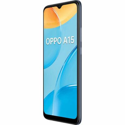 Téléphones neufs Oppo A15 Noir 4 en Martinique, en Guadeloupe, en Guyane et à la Réunion