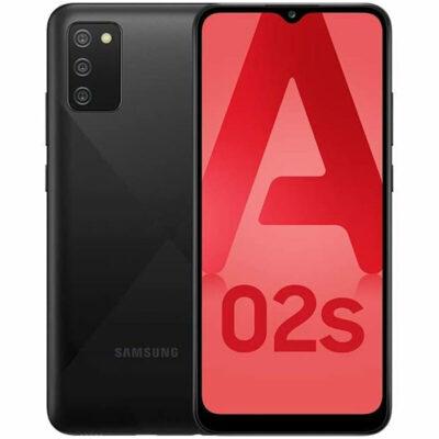 Téléphones neufs Samsung A02s Noir 7 en Martinique, en Guadeloupe, en Guyane et à la Réunion