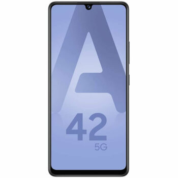 Téléphones neufs Samsung A42 5G Noir 1 en Martinique, en Guadeloupe, en Guyane et à la Réunion