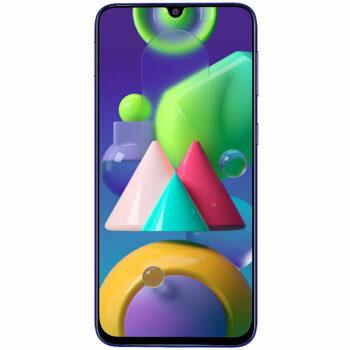 Téléphones neufs Samsung M21 Bleu 1 en Martinique, en Guadeloupe, en Guyane et à la Réunion