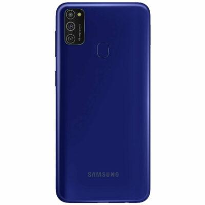 Téléphones neufs Samsung M21 Bleu 2 en Martinique, en Guadeloupe, en Guyane et à la Réunion