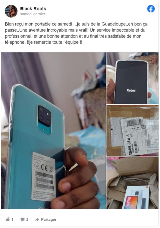 Téléphones neufs 3 bis en Martinique, en Guadeloupe, en Guyane et à la Réunion