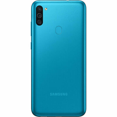 Téléphones neufs Samsung M11 Bleu 2 en Martinique, en Guadeloupe, en Guyane et à la Réunion