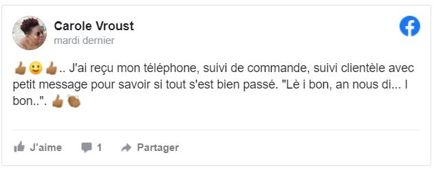 Téléphones neufs Avis 114 en Martinique, en Guadeloupe, en Guyane et à la Réunion