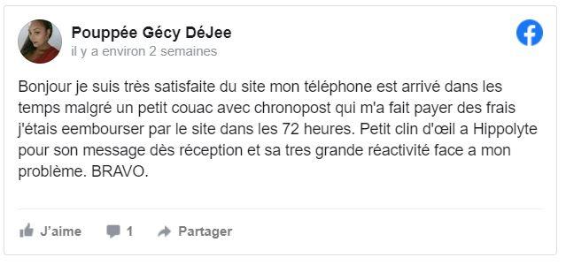 Téléphones neufs Avis 125 en Martinique, en Guadeloupe, en Guyane et à la Réunion