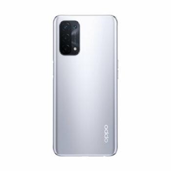 Téléphones neufs Oppo A74 5G Argent 2 en Martinique, en Guadeloupe, en Guyane et à la Réunion