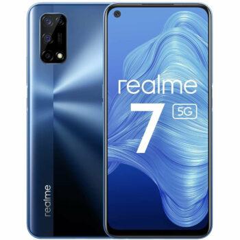 Téléphones neufs Realme 7 5G Bleu 1 en Martinique, en Guadeloupe, en Guyane et à la Réunion
