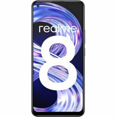 Téléphones neufs Realme 8 Noir 1 en Martinique, en Guadeloupe, en Guyane et à la Réunion