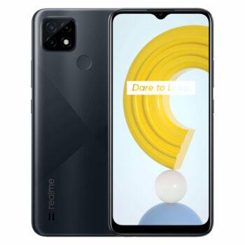 Téléphones neufs Realme C21 Noir 1 en Martinique, en Guadeloupe, en Guyane et à la Réunion